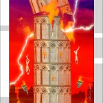 <!--:en--> Tarot Project, Letter XVI The Tower<!--:--><!--:es-->Proyecto Tarot, carta La Torre XVI<!--:-->