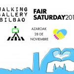 Walking Gallery Bilbao -Fair Saturday 2015